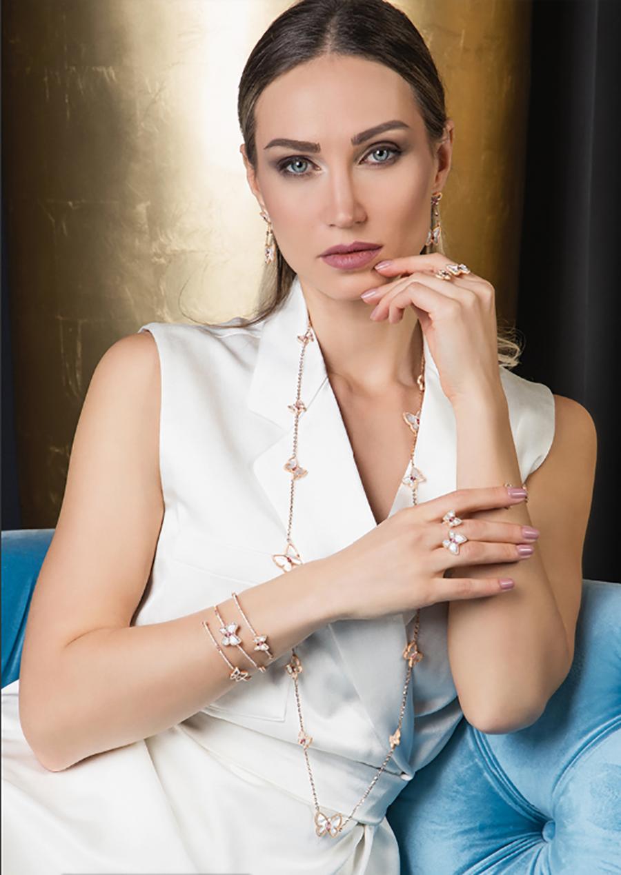 Jewelry Model Ekaterina Yudina